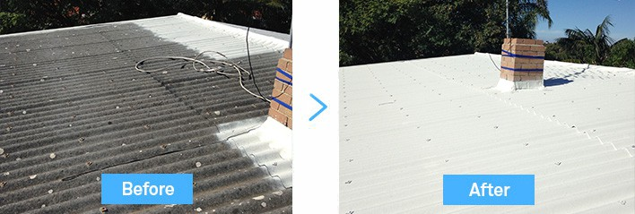 asbestos-roof-coating-before-after